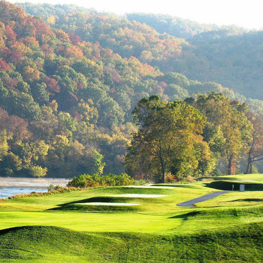Pete Dye River Course during fall