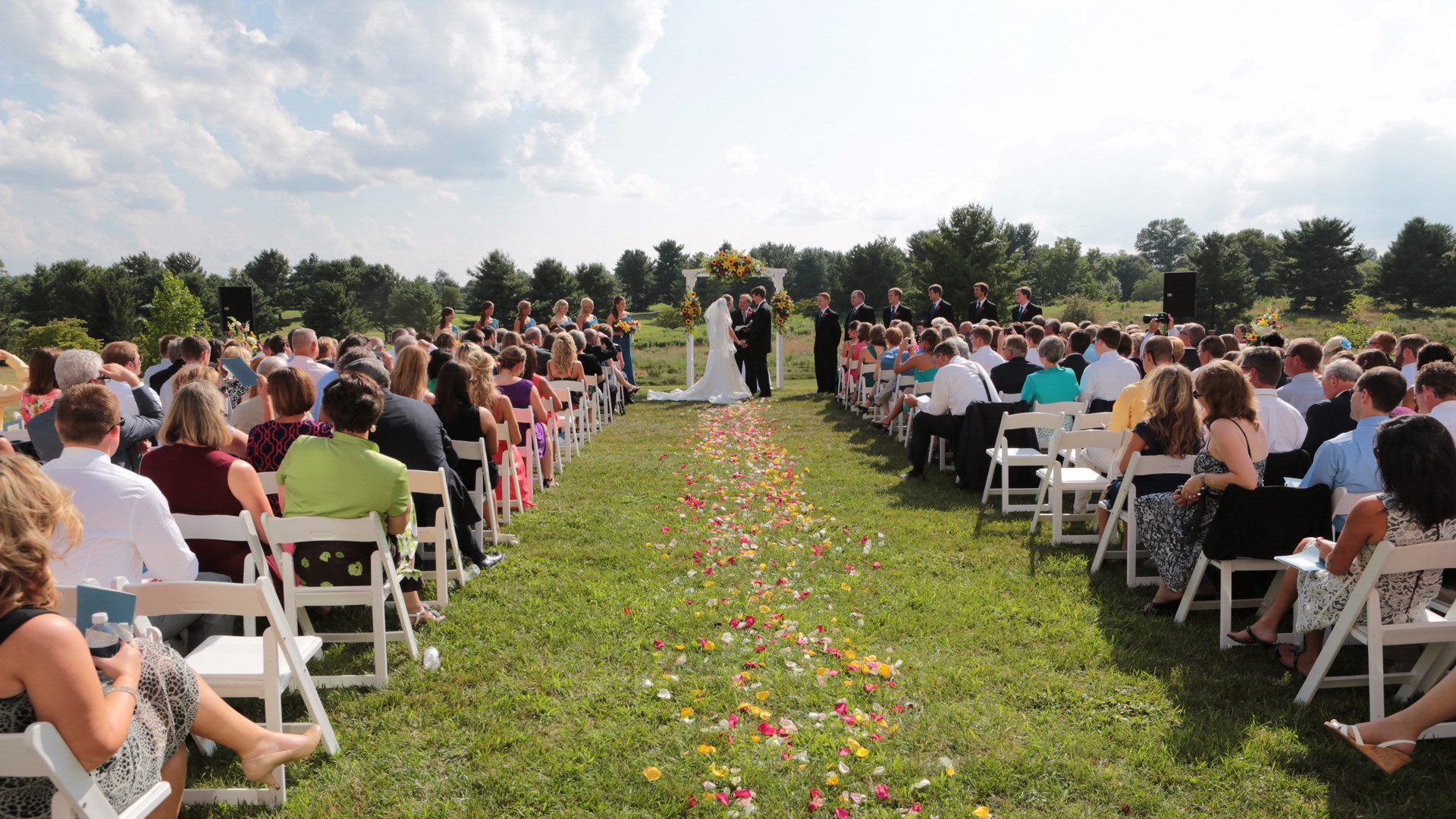 decorating backyard wedding virginia tech wedding venue the inn at va tech in blacksburg 3360