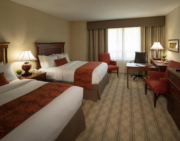 Inn at Virginia Tech double rooms