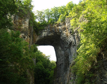 Natural Bridge Va Is Home To Many Wonders The Naturally Formed Rock A Por Site As Well Traveling Down Cedar Creek Trail And
